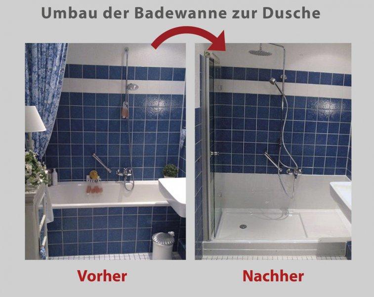 wanne zur dusche in 8 stunden 3a bad barrierefrei. Black Bedroom Furniture Sets. Home Design Ideas
