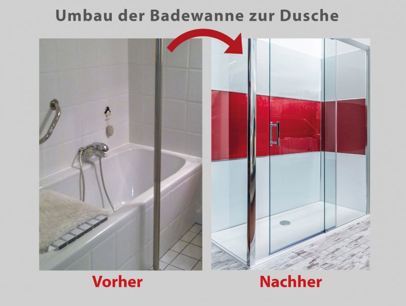 wanne zur dusche in 8 stunden 3a bad barrierefrei. Black Bedroom Furniture Sets. Home Design Ideas